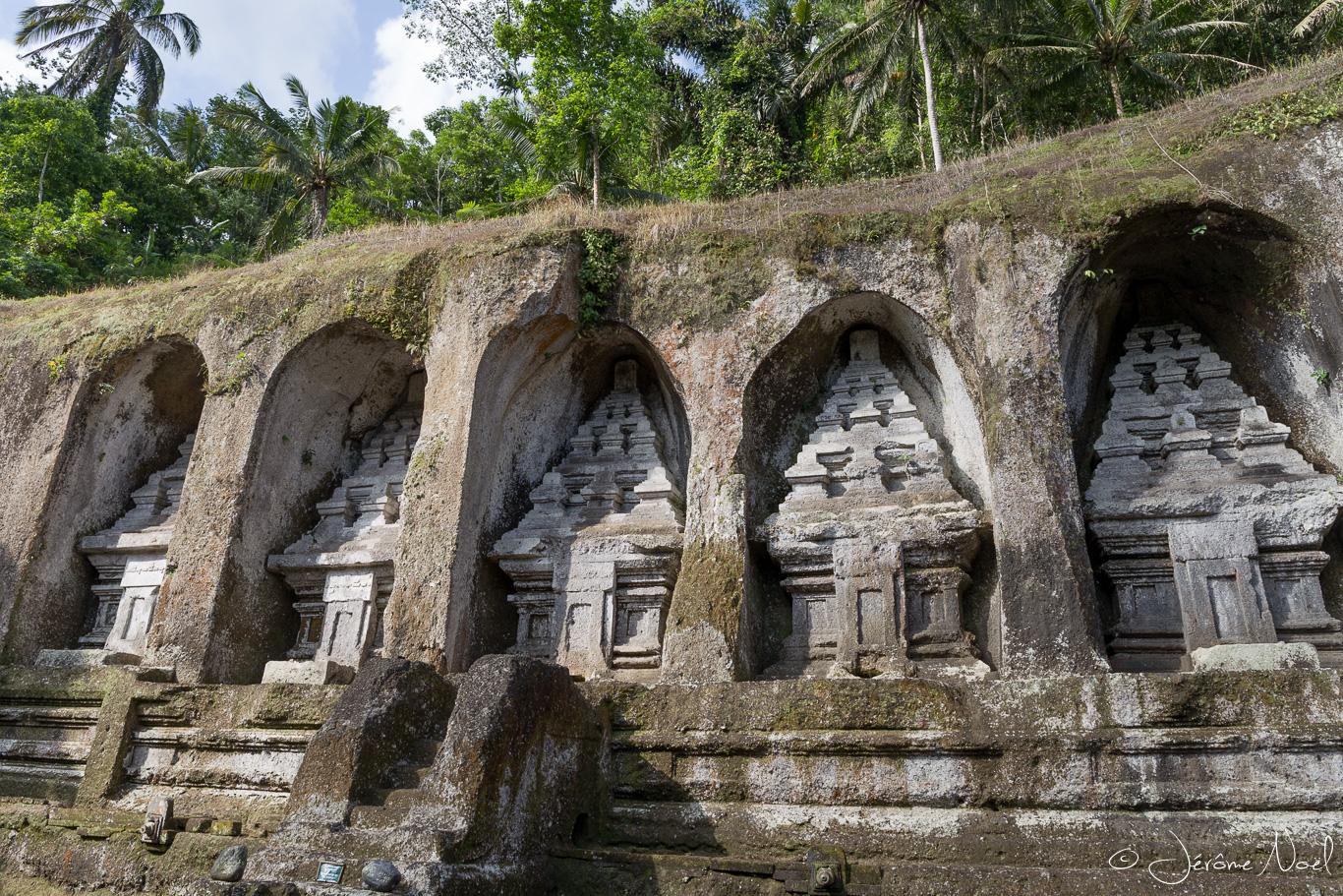 Gunung Kawi : les hommes
