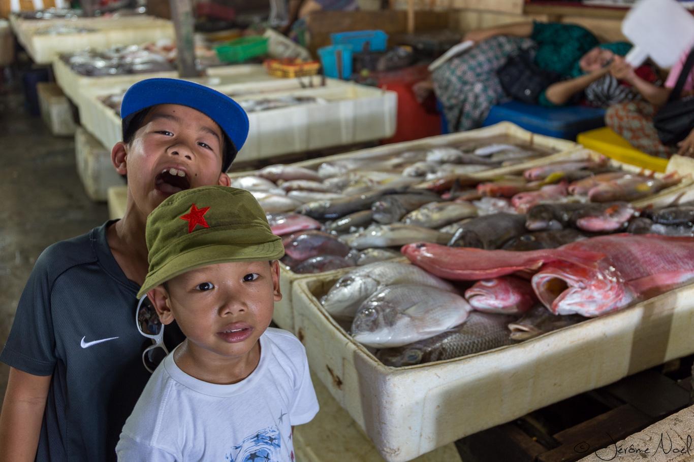 Jimbaran Fish Market - Bouches ouvertes