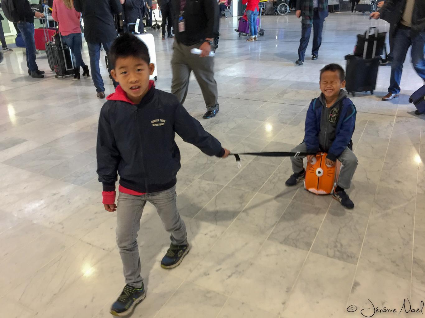 Luka & Thomas à CDG