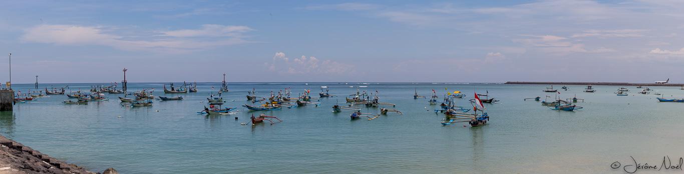 Plage de Jimbaran - Panorama