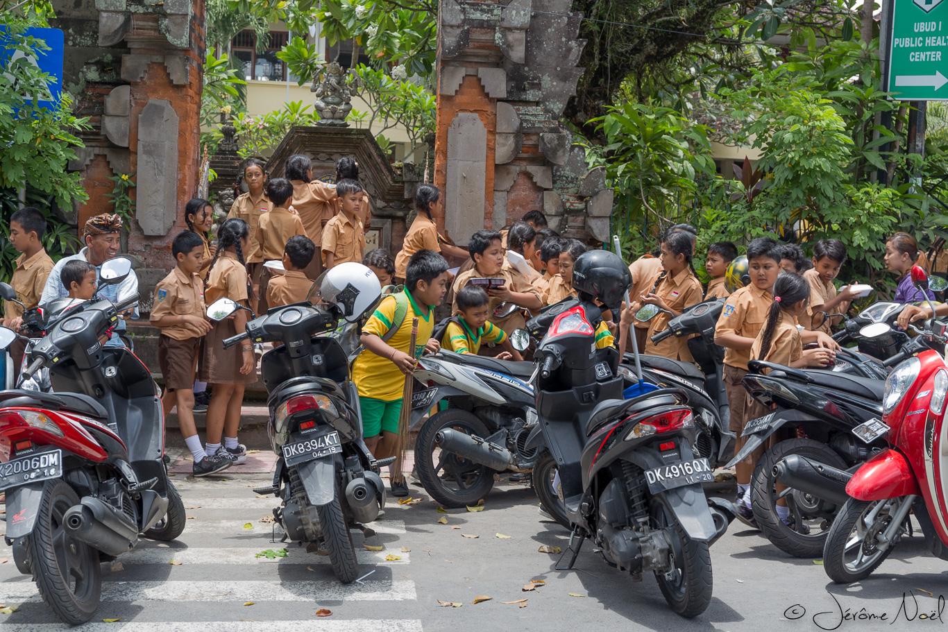 Ubud - Sortie école