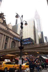 Thomas devant Grand Central Terminal