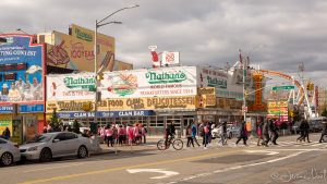 Nathan's Famous à Coney Island