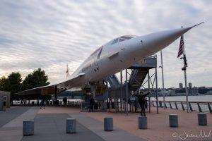 Concorde de British Airways de 1976