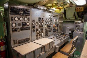 A l'intérieur du sous-marin
