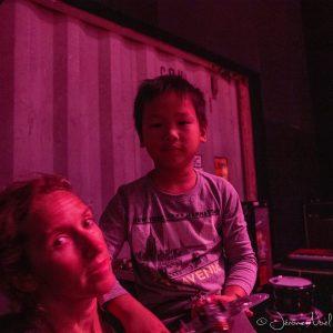 Premier concert de Thomas