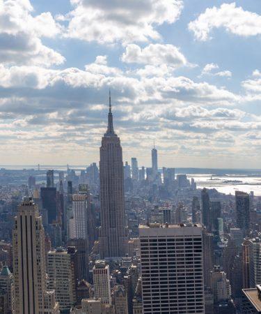 Panorama de Manhattan depuis Top of the Rock