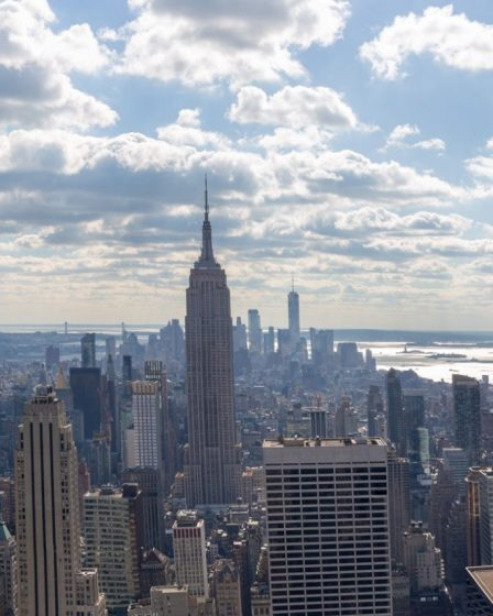 Panorama de Manhattan depuis Top of the Rock